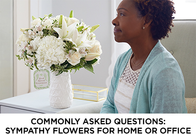 Article: Sympathy Flowers for the Home or Office