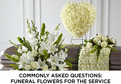 Article: Funeral Flowers for the Service