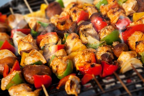 Tailgating Kebabs on the Grill