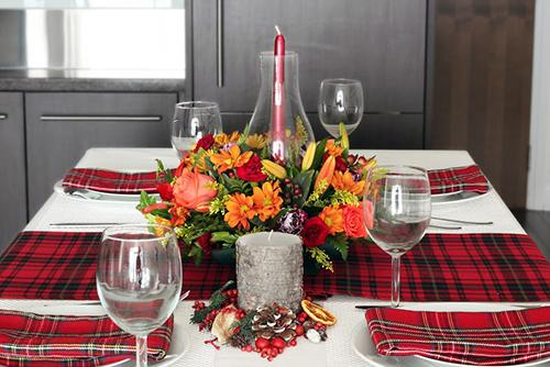 Thanksgiving Centerpiece Heart of Harvest Table
