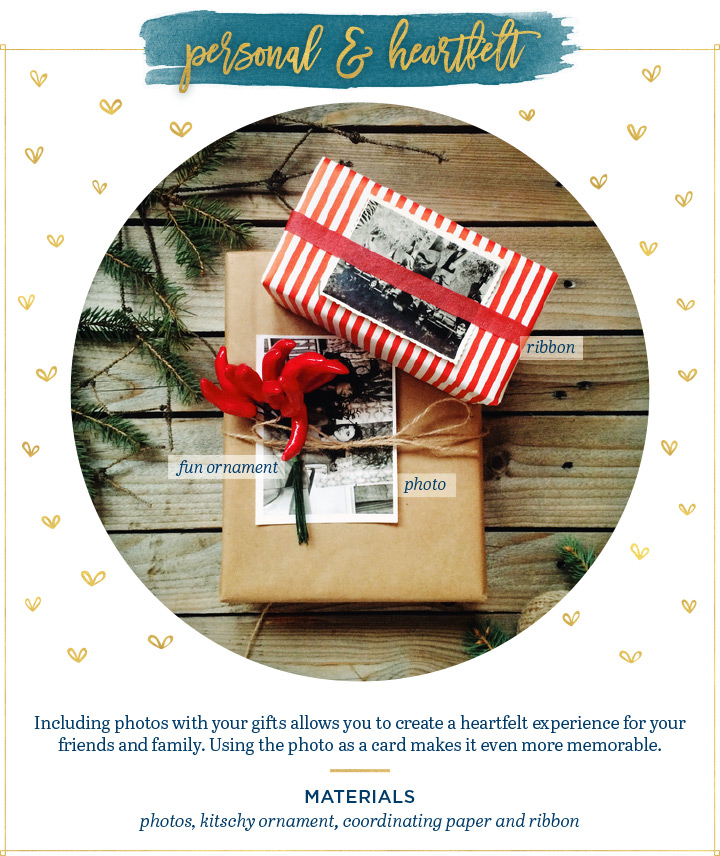 heartfelt personal gift wrapping