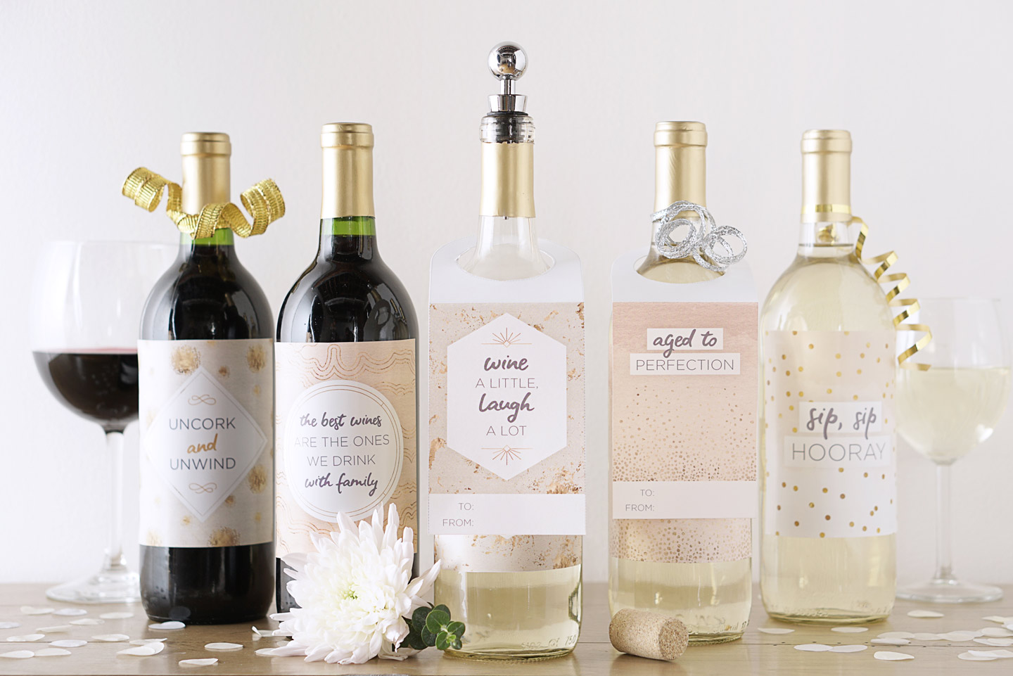 6 Printable Wine Bottle Labels For Special Occasions Ftd Com