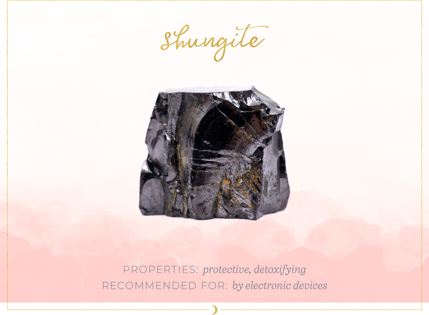 Crystals In Your Home - Shungite