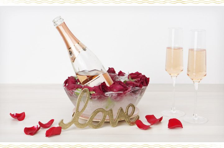 Floral Ice Bucket Love