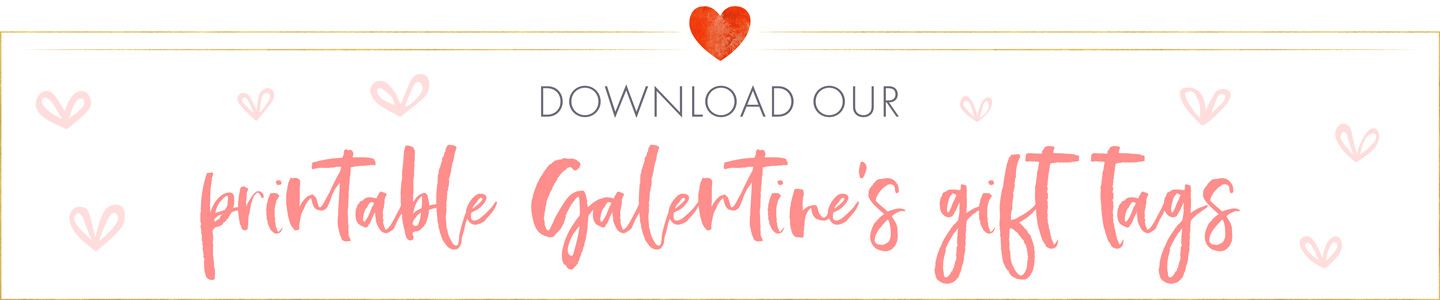 Printable Galentine's Gift Tags