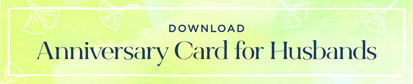 download button anniversary cards for husbands