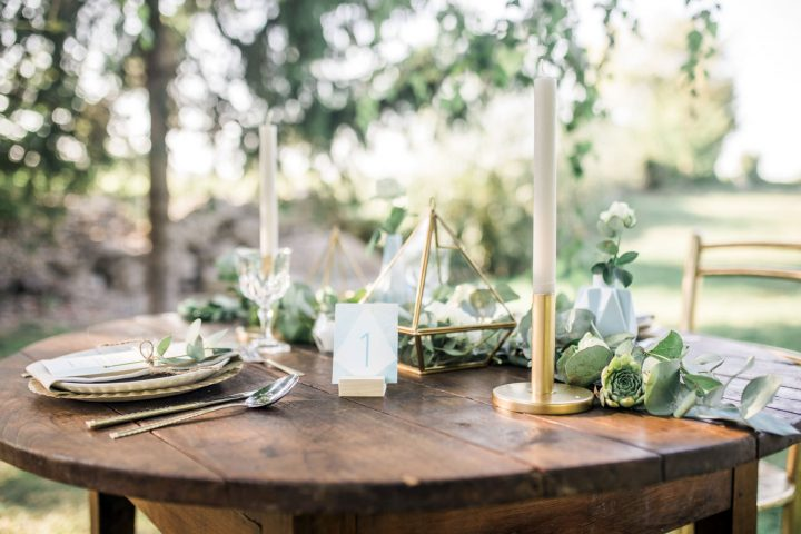 taper candle centerpieces
