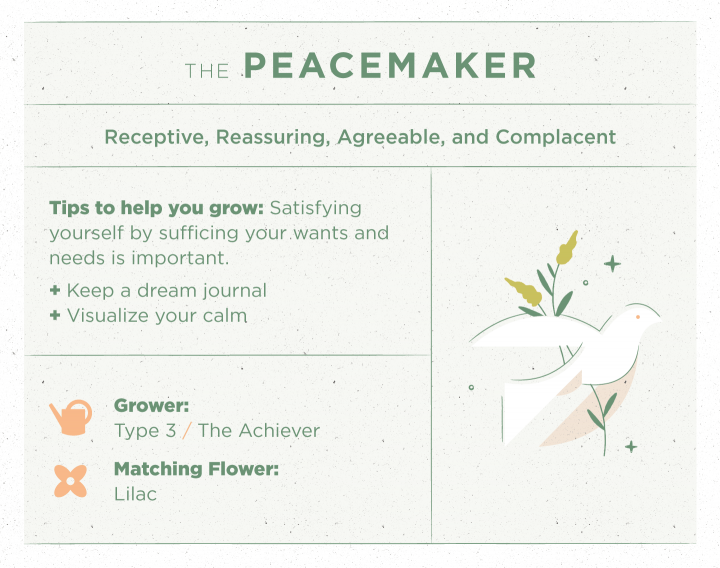 The Peacemaker Type Enneagram