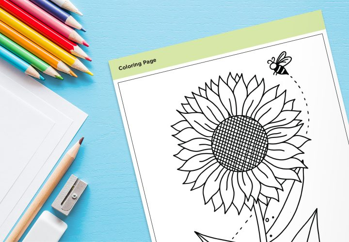 flower coloring pages printable