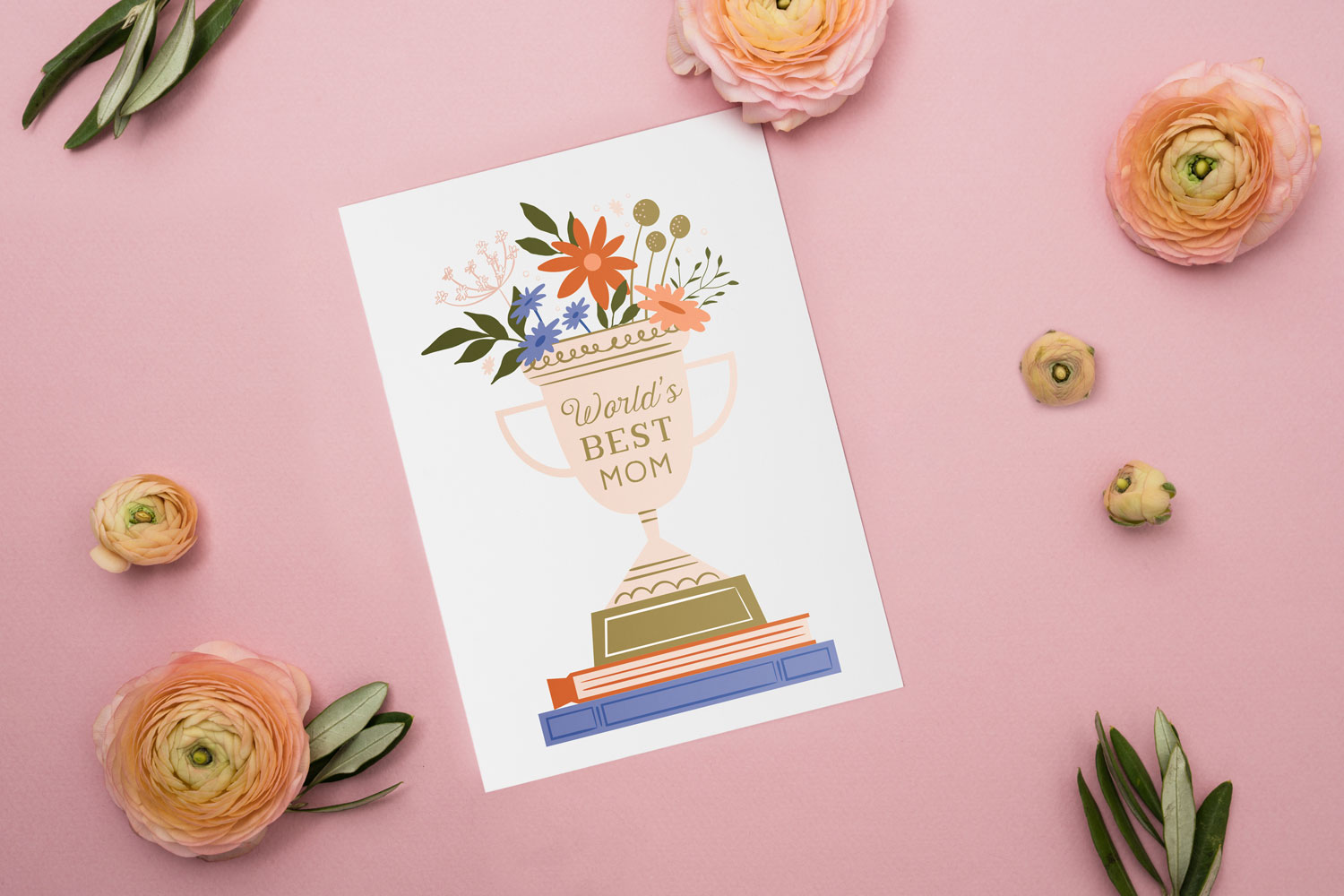 sentimental mother's day card