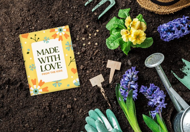kids seed packets