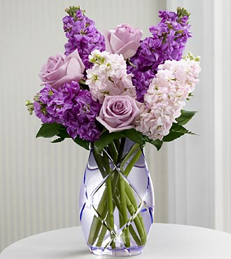 The FTD Sweet Devotion Flower Bouquet By Better Homes And Gardens - Vase Included