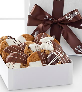 Mrs. Fields® Chocolate Dipped Cookies