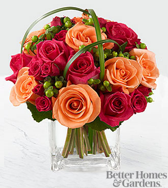 FTD Flowers - Deep Emotions Flower Bouquet By Better Homes And Gardens - Vase Included