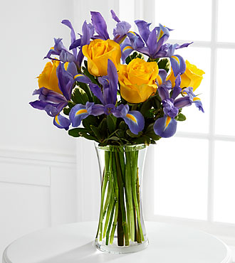 The FTD Sunlit Treasures Flower Bouquet - Vase Included