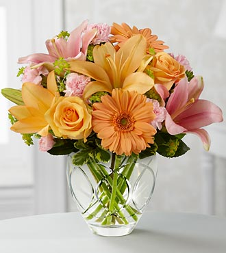The FTD Brighten Your Day Flower Bouquet By Better Homes And Gardens - Vase Included