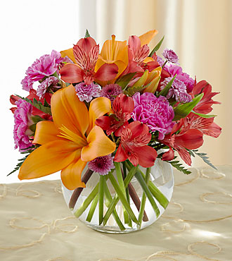 FTD Light of My Life Bouquet - VASE INCLUDED