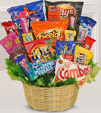Sweets in Bloom® Snack Attack Basket