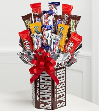 Sweets in Bloom® Chocolate Lover's Dream Flower Bouquet