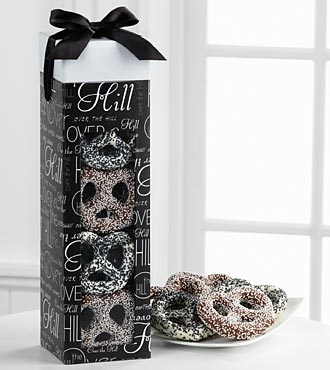 Sweets In Bloom Over The Hill Chocolate Covered Birthday Pretzels