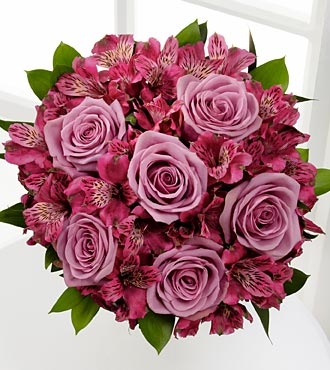 Purple Perfection Flower Bouquet
