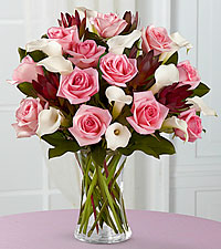 Fabled Beauty Bouquet with Vase