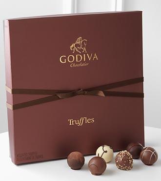 Godiva Signature Chocolate Truffle Assortment - 36 Piece Box