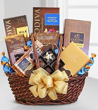 Godiva® Spring Greeting Basket