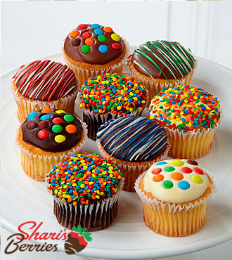 Golden Edibles Belgian Chocolate Covered Cupcakes