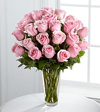 The FTD® Long Stem Pink Rose Bouquet