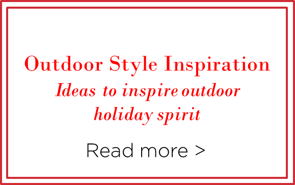 Outdoor Style Inspiration Blog