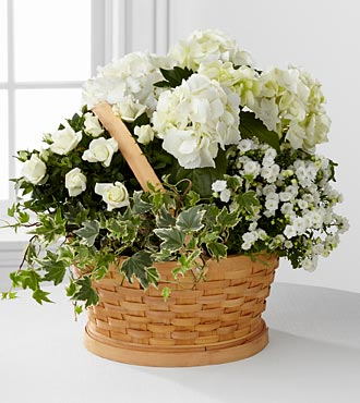 Whispers of Peace Sympathy Basket - Better