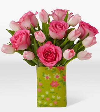 Todd Oldham® Sweet Surrender Bouquet with FREE Vase
