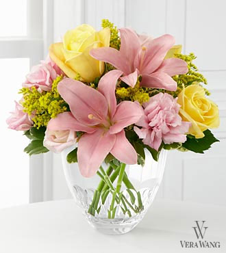 The FTD Sweet Effects Flower Bouquet By Vera Wang - Vase Included