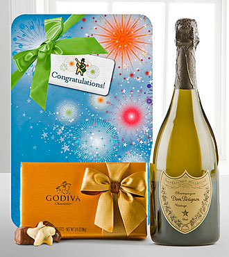 Celebrate With Dom Perignon & Godiva