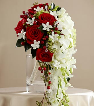 The FTD Here Comes The Bride Flower Bouquet