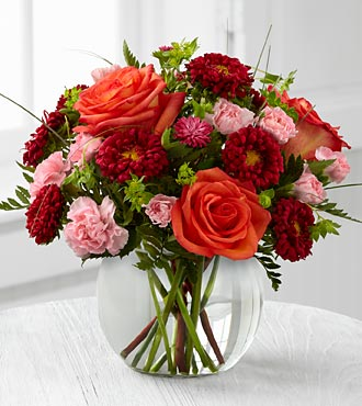 The FTD Color Rush Flower Bouquet By Better Homes And Gardens - Vase Included